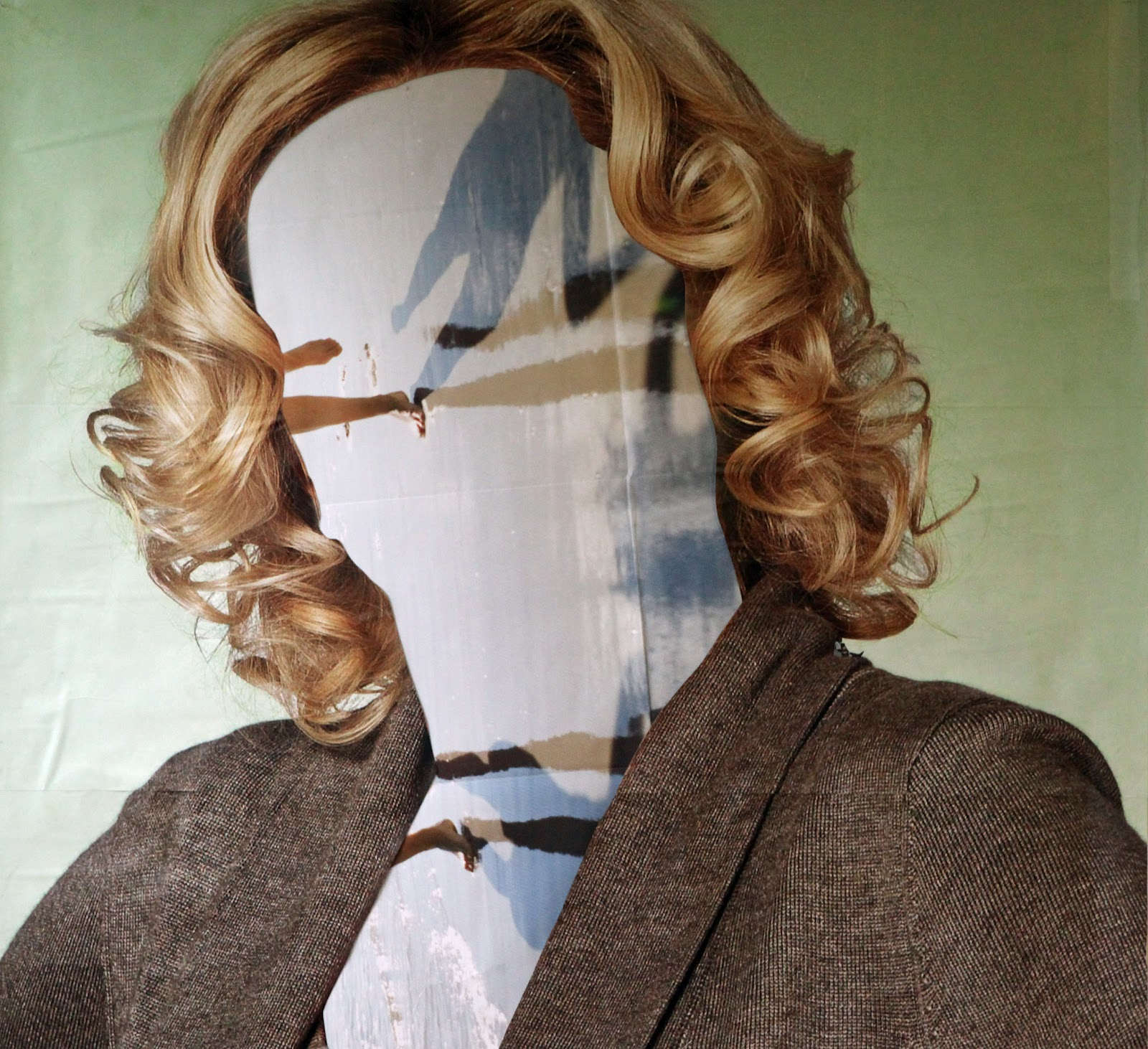 """Arbeiten aus """"gigantic collage"""", Ursula Meyer"""