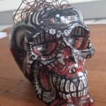 Schädel gestaltet von Sebastian Dotter